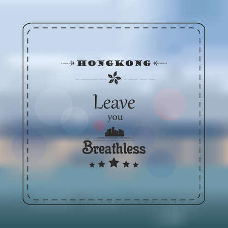 hong kong leave you breathless background