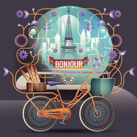 bonjour: bonjour france greeting