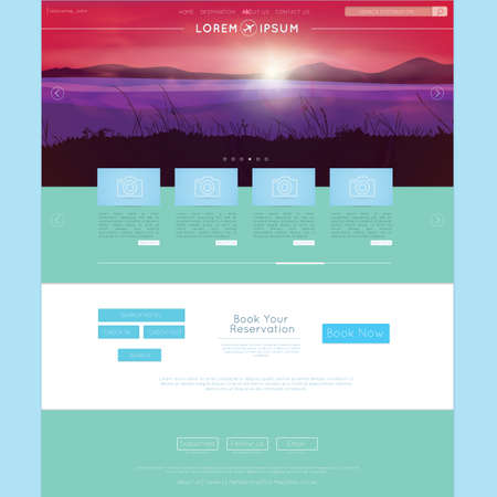 web: web page