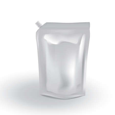 pouch: beverage spout pouch Illustration