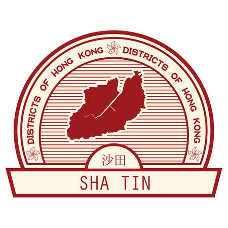 sha: sha tin state map
