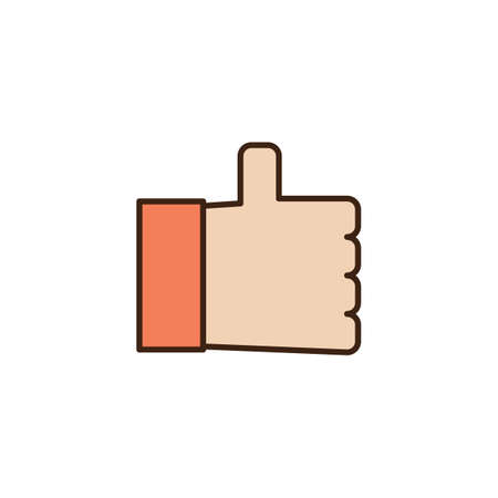thumbs up icon: thumbs up icon Illustration