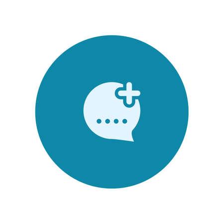 add: add chat icon
