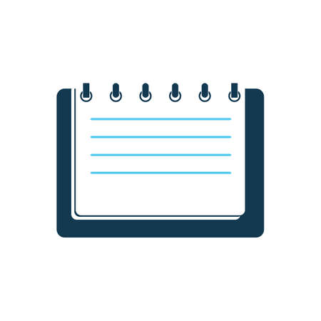 ruled paper: notepad