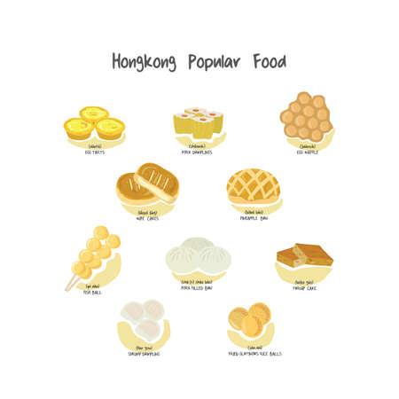 hong kong popular food set
