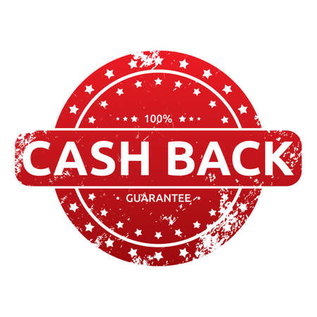 cash back: cash back label