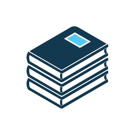 copybook: stack of books Illustration