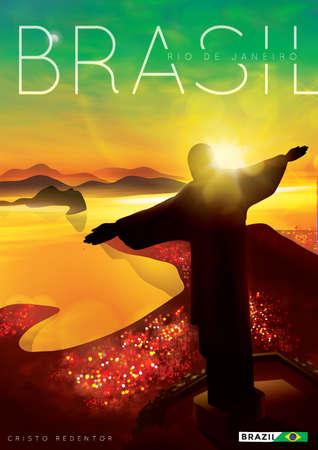 cristo: brazil poster