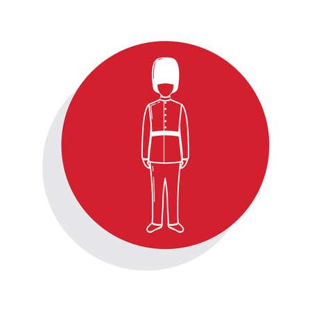 bearskin hat: royal guard