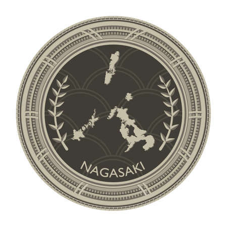 nagasaki: nagasaki map