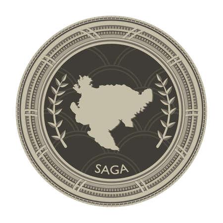 saga: saga map Illustration