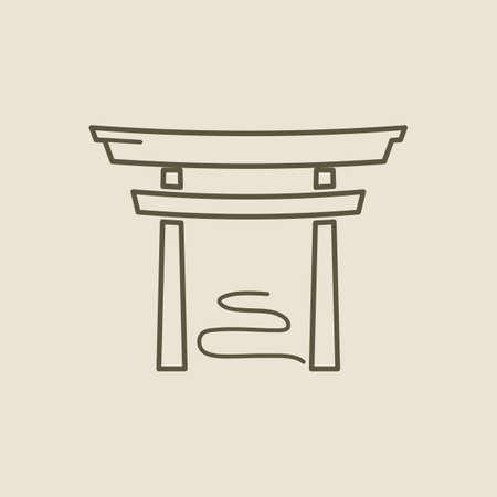 built structure: torii gate