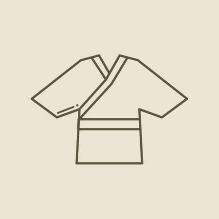 kimono: kimono Illustration