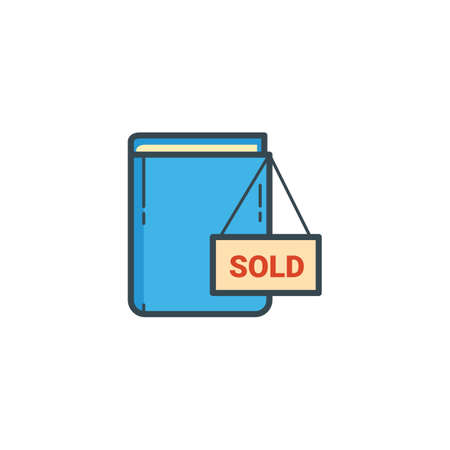 sold sign: book with sold sign