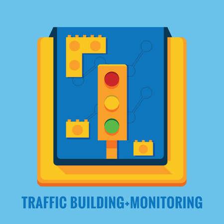 traffic building: traffic building monitoring