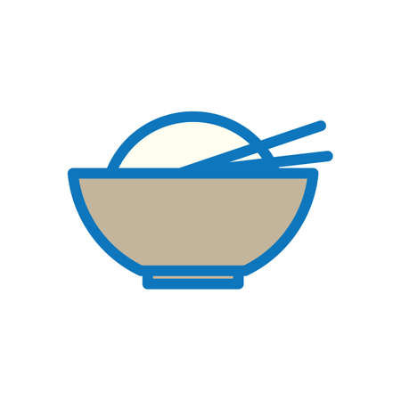 eating utensil: bowl and chopstick