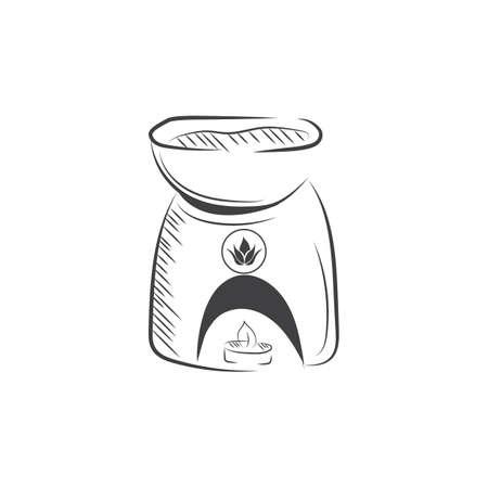 burner: spa candle burner