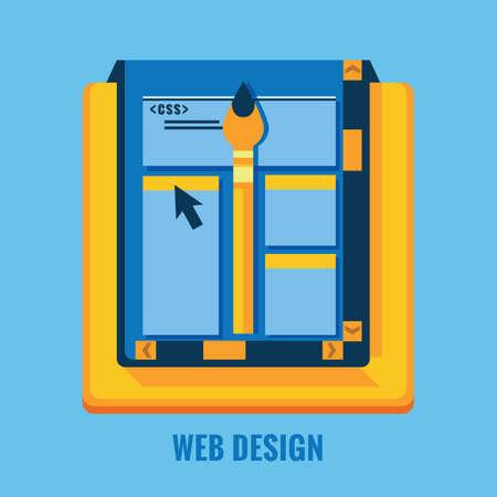 web: web design