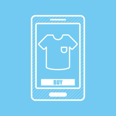 mobilephones: mobile shopping Illustration