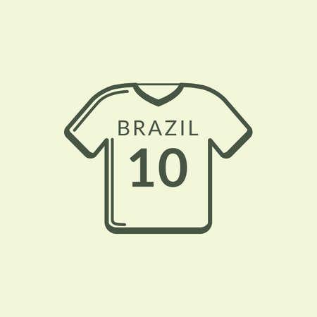 sports jersey: brazil sports jersey