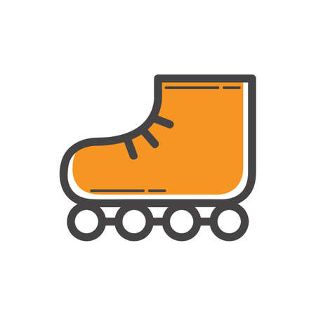 roller skate: roller skate Illustration