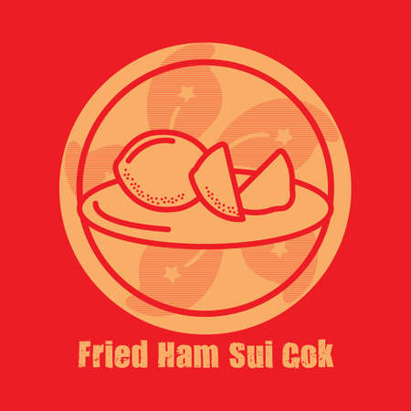 fried: fried ham sui gok