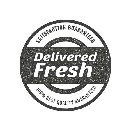 delivered: delivered fresh label