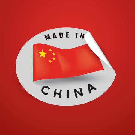 made in china: made in china sticker