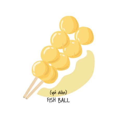 dan: fish ball