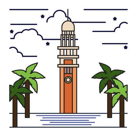 clock tower: clock tower