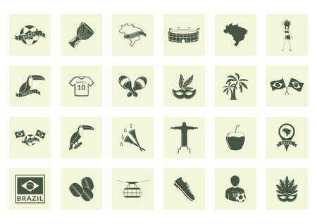 redeemer: collection of brazil icons
