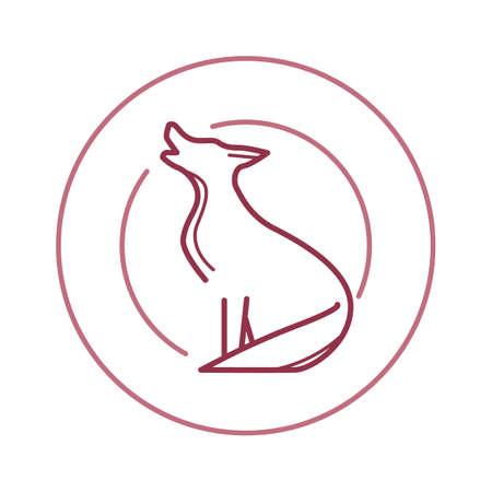 rapacious: wolf Illustration