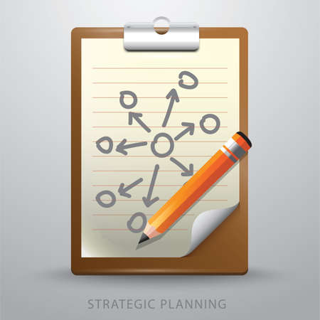 Strategic planning Ilustrace
