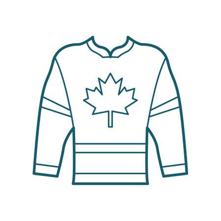 Hockey-Trikot Standard-Bild - 81534883