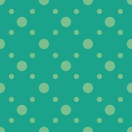 シームレスな円パターンのイラスト。