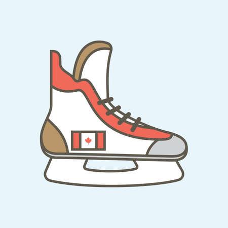 ice skate Stock fotó - 81484181