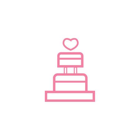 wedding cake Standard-Bild - 106667459