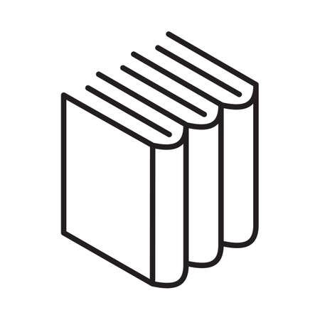 Illustration simple de livres. Banque d'images - 81484194