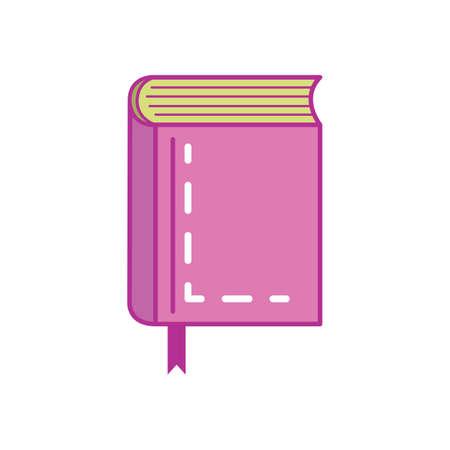 A book  illustration. 向量圖像