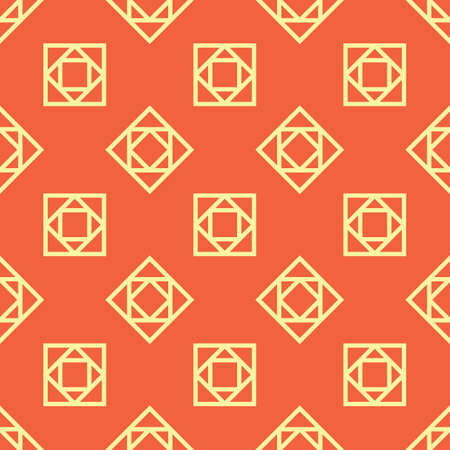 Een naadloze geometrische patroonillustratie. Stock Illustratie