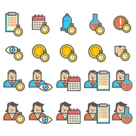 Set of business strategy icons 版權商用圖片 - 81534892