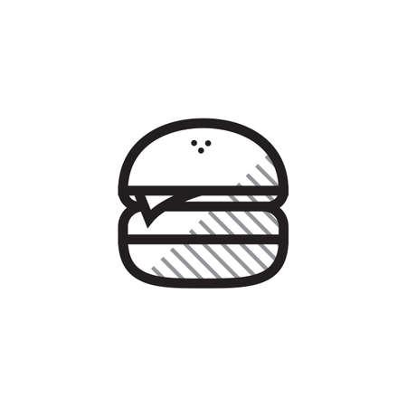 Burger Ilustracja