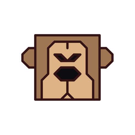 Monkey 版權商用圖片 - 81534539