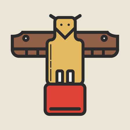 kinship: totem Illustration