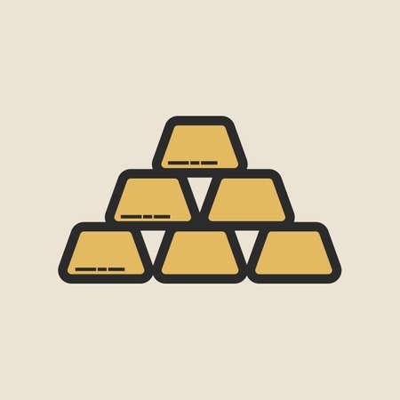 gold bar Çizim