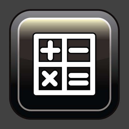 calculation icon Ilustracja
