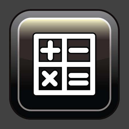 Icône de calcul Banque d'images - 81484514