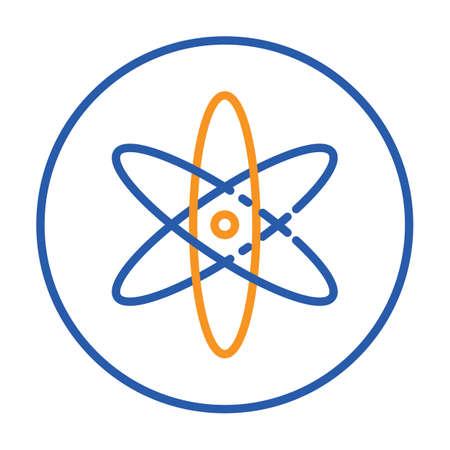 An atom Illustration.
