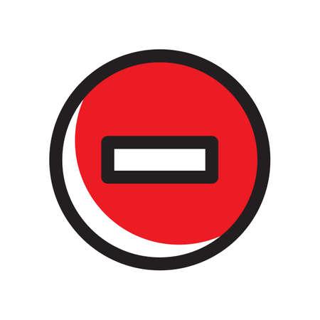 Symbol entfernen Standard-Bild - 81483795