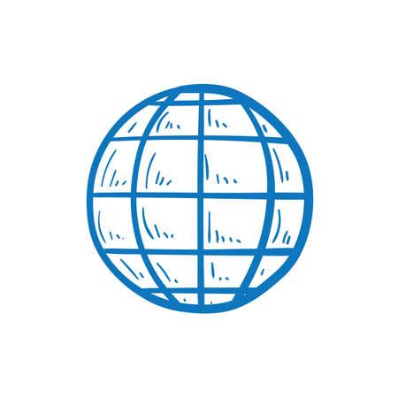 globe icon Ilustração